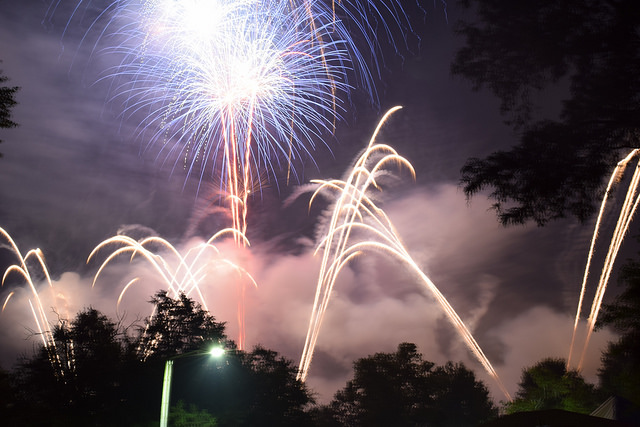 Nashville Fireworks parabolas 2017 07 04